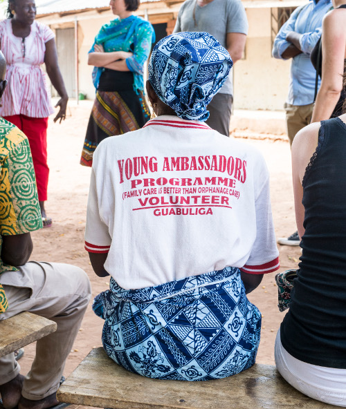 Waisenkinder als Botschafter/innen der Reintegration