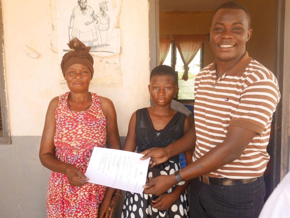 Reintegration of five children of the Timaltaba orphanage