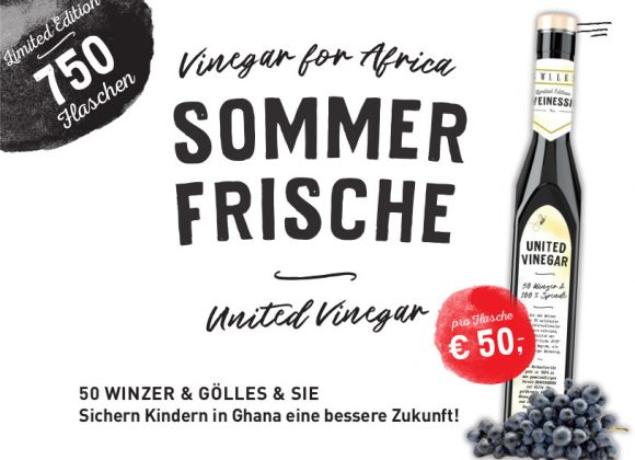 UNITED VINEGAR für Kinderschutz