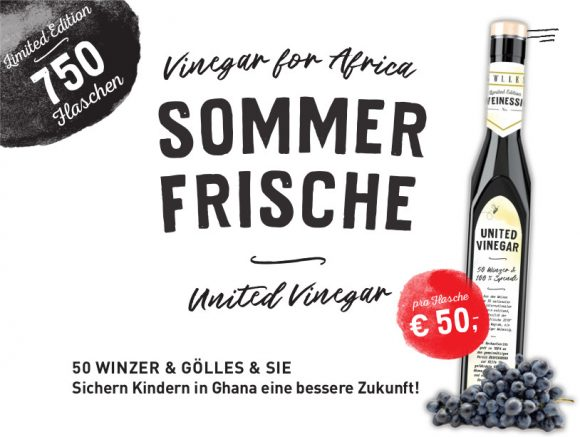 Limited Edition – United Vinegar for Africa