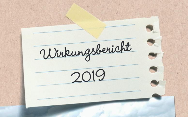 Wirkungsbericht 2019 jetzt online